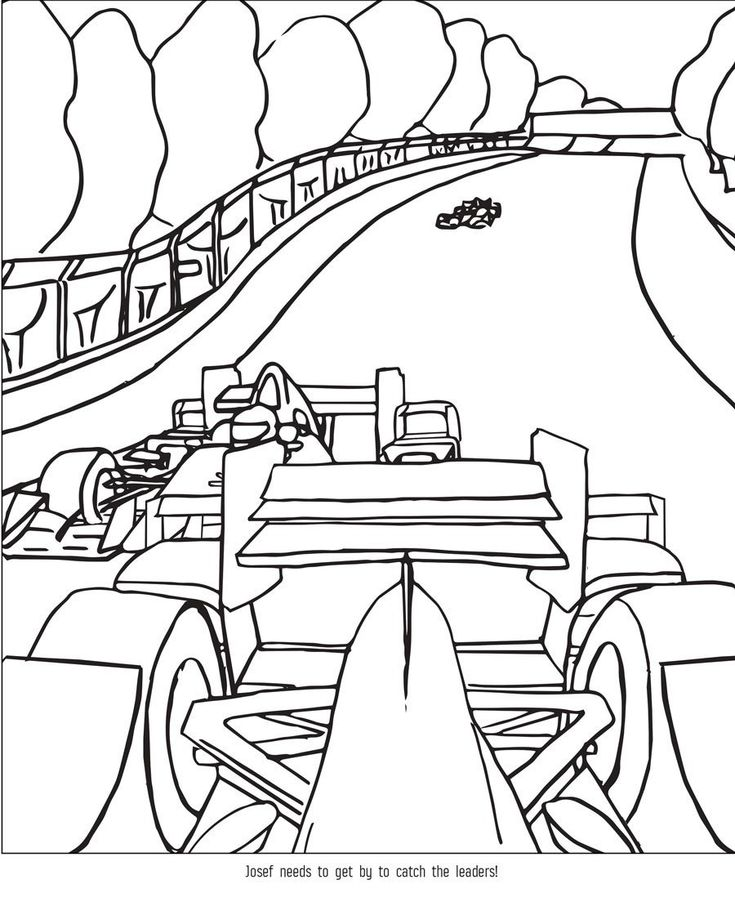 indy 500 coloring pages - photo#16