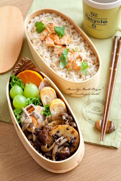 ふりかけおにぎりのお弁当 の画像|あ~るママオフィシャルブログ「毎日がお弁当日和♪」Powered by Ameba