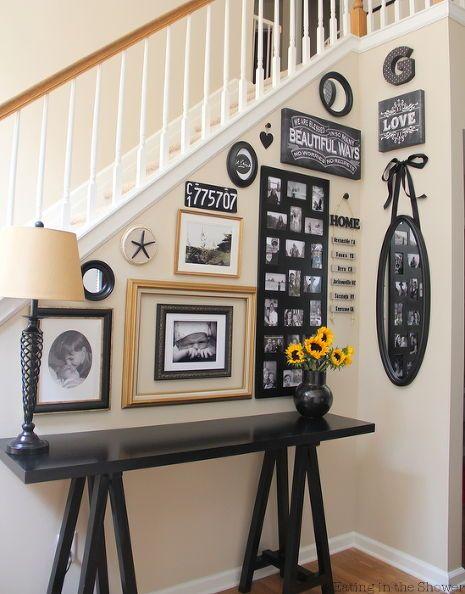 foyer decorating entryway frames walls, foyer, home decor, wall decor