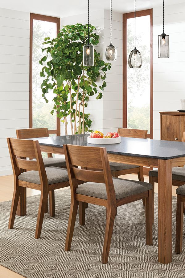 Room Board Linden Tables Modern Dining Tables Modern