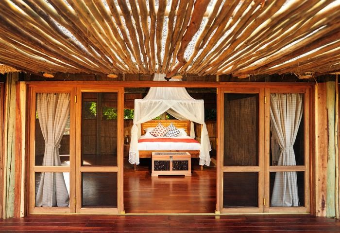 spacious chalet at Bilimungwe - you might not want to leave your room!