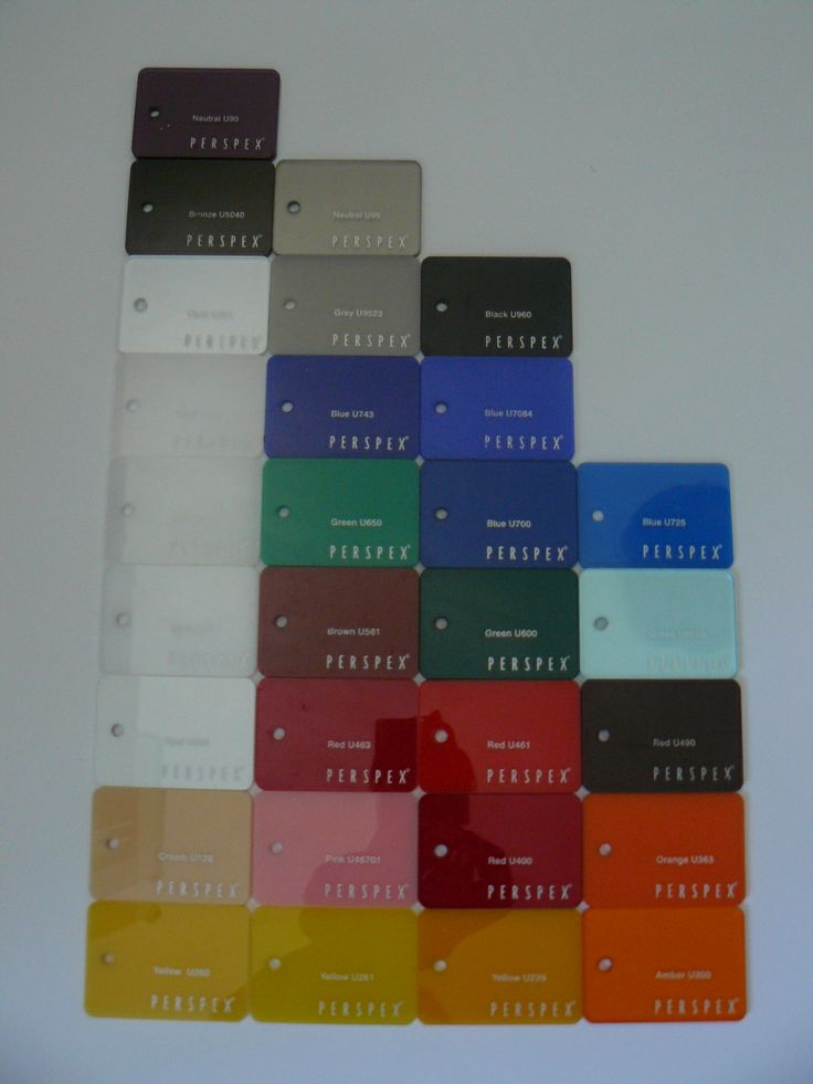 Perspex Dome Colours Available