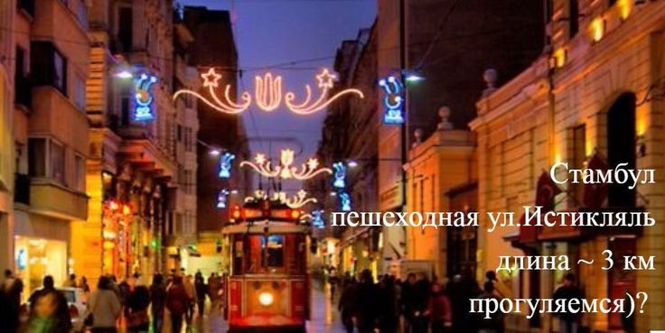Улица Истикляль (тур. İstiklâl Caddesi) в Стамбуле— одна из самых популярных пешеходных улиц  в районе Бейоглу.