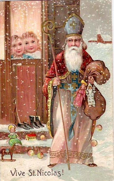 Vive Saint Nicholas Santa Claus, St. Nick, Father Christmas