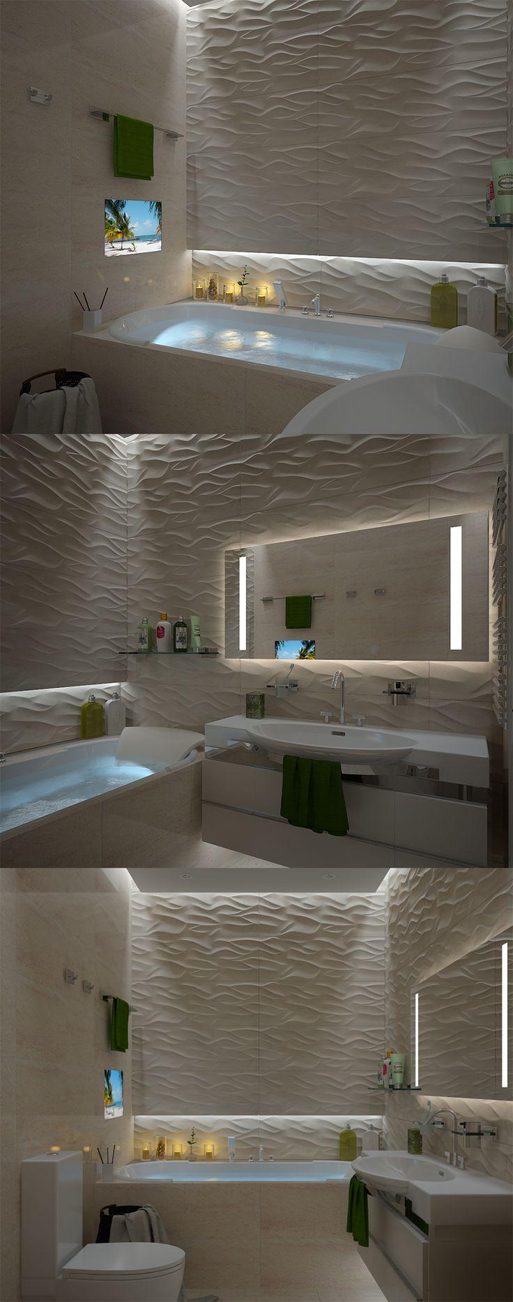 Relaxing bathroom :)
