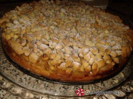 Νηστίσιμη μηλόπιτα ολικής άλεσης χωρίς ζάχαρη