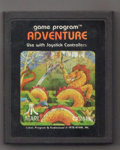 Vintage 1978 Atari Adventure Game Cartridge, Vintage Games, Antique Al – Antique Alchemy