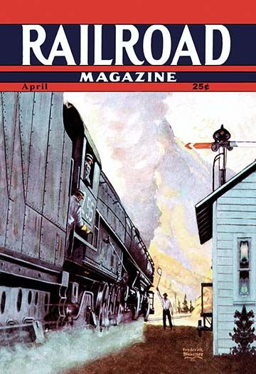 Railroad Magazine: Speeding Through the West, 1944