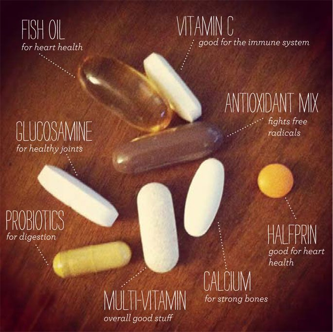 Start taking your vitamins a couple weeks before the seasons change to build up your immunity so you don't get sick!