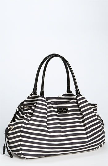 Kate Spade baby bag. Wow, shower gift to dream about.