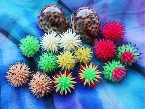 Сегодня я покажу свой способ изготовления шариков - ежиков) Вы можете ассоциировать их с разными штуками - цветами, кактусами, морскими ежами - всё зависит о...