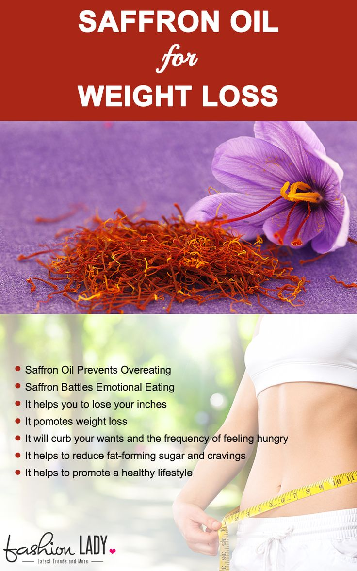 Saffron Oil For Weight Loss