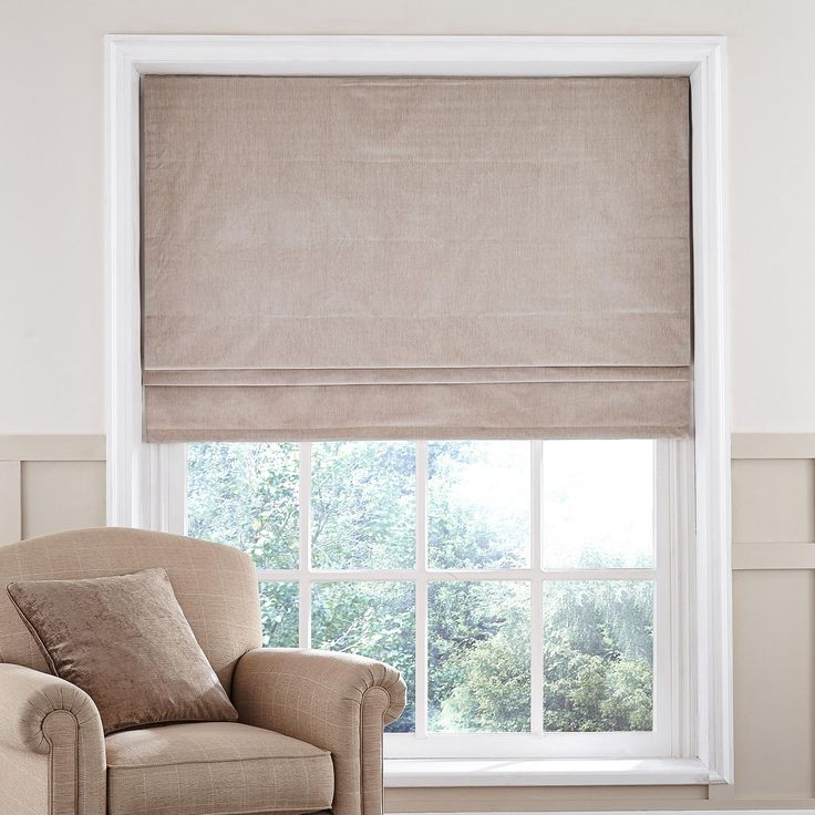 cool Dorma Lymington Cream Roman Blind Cream