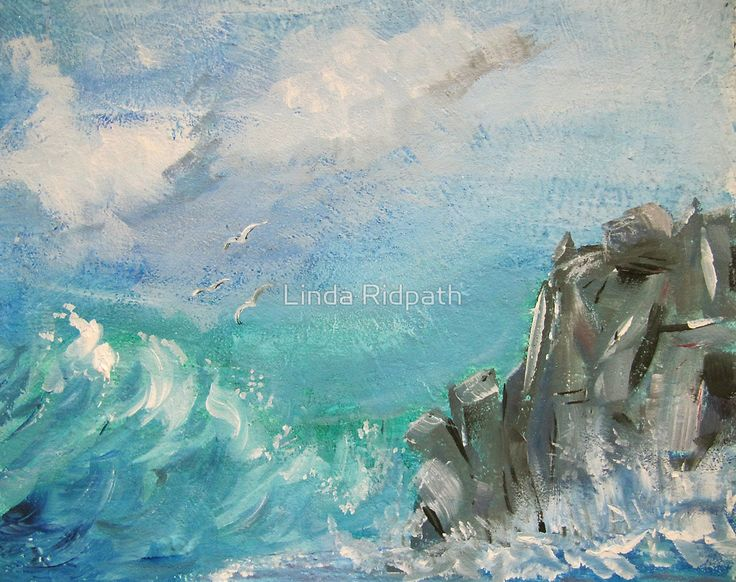 Remodernism, Cornish Rocks by Linda Ridpath - Remodernism revives aspects of modernism, particularly in its early form, and follows postmodernism, to which it contrasts. Adherents of remodernism advocate it as a forward and radical, not reactionary, impetus.