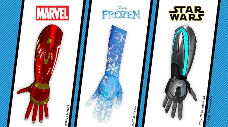 Marvel Frozen Star Wars Bionic Hands