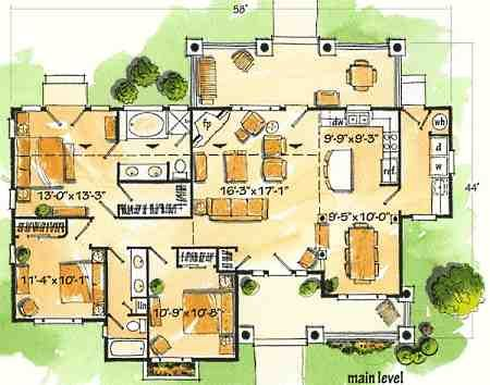 Log Cabin Floor Plan Designs Little Architectural