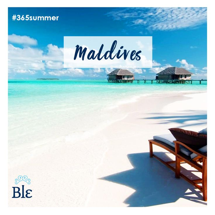 Freedom for the mind and the soul and heaven for your senses.  It is called Maldives.