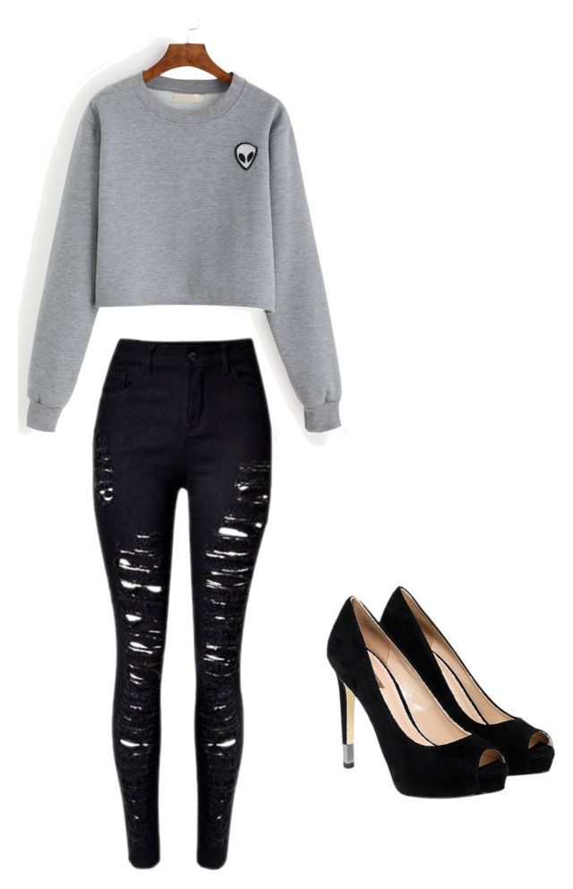 """""""Movies"""" by ana-johnston on Polyvore featuring GUESS"""