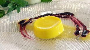Zitronencreme fertig auf einem Teller | Bildquelle: wdr