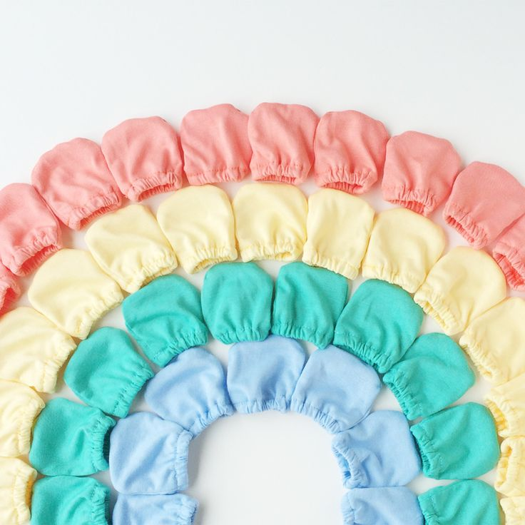 Organic Cotton Baby Scratch Mittens | Satsuma Designs