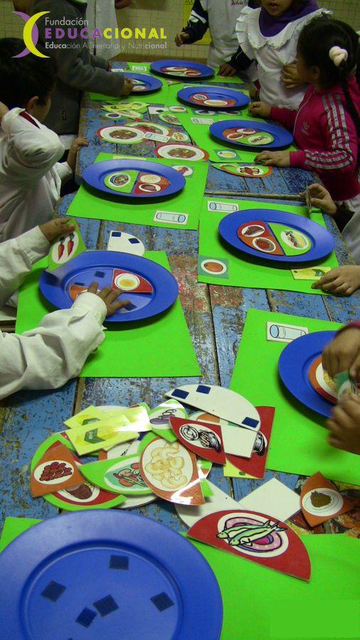 actividades de alimentacion saludable para niños - Buscar con Google