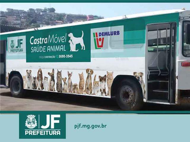 BONDE DA BARDOT: MG: Prefeitura cria ônibus para castração móvel de cães e gatos em Juiz de Fora