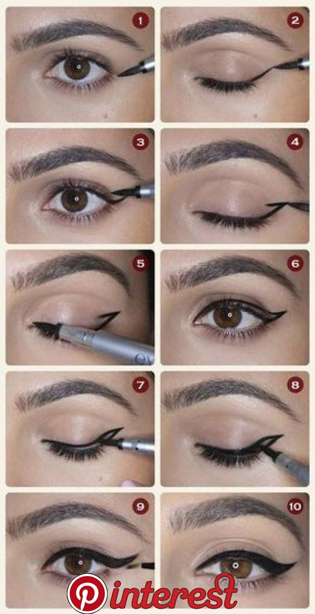 21 Easy Eyeliner Hacks Everyone Should Try   They'll be the wind beneath your wings.
