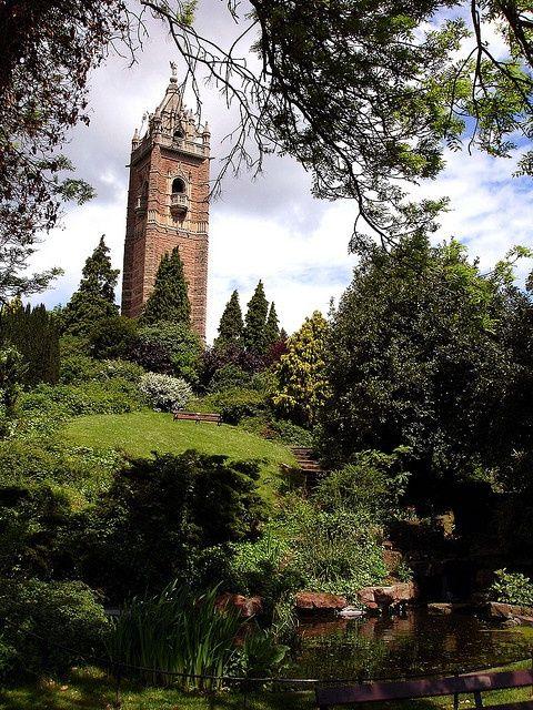 Cabot Tower, Brandon Hill, Bristol, England