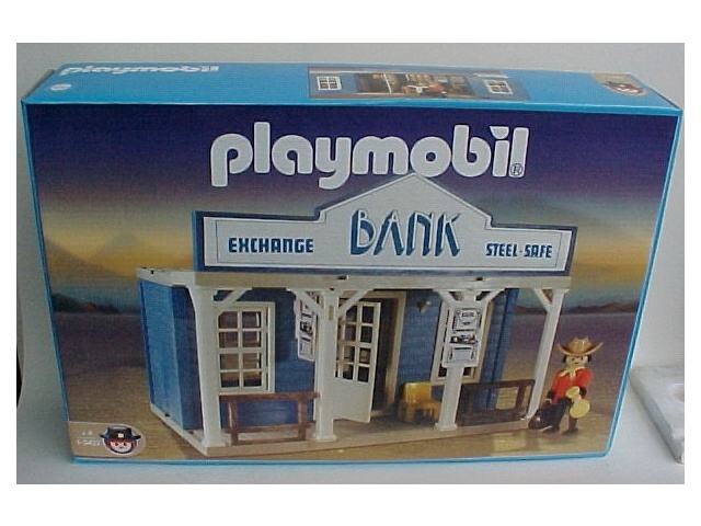 Playmobil 1-3422 Western Bank_Antex Argentina // Available - Shipping worldwide
