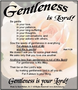 Image result for gentleness jesus
