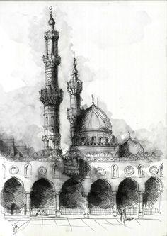 Islamic Architecture Sketches
