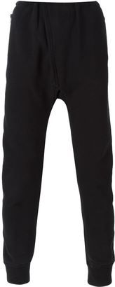 Yeezy Adidas Originals by Kanye West drop crotch track pants - Shop for women's Pants - BLACK Pants