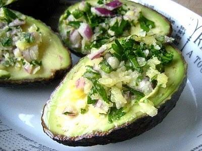 yum! stuffed avacados