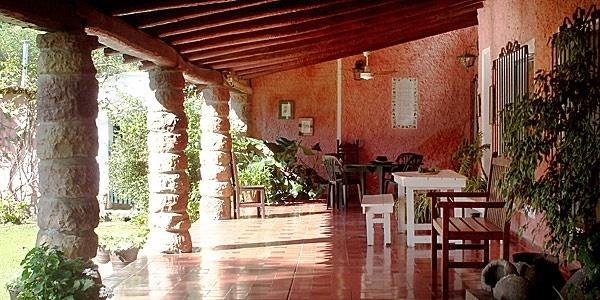 Finca Los Los in Salta, also has a log cabin you can stay in...