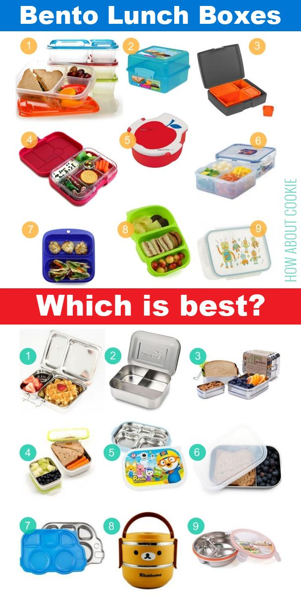 Bento Lunch boxes - which brand is best? How do @EasyLunchboxes stack up against the others?