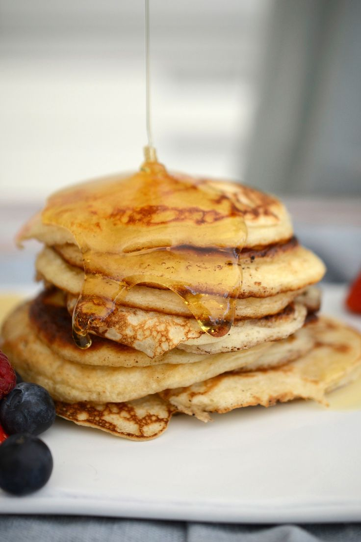 Bank holiday brunch recipes from @ModFamFood You will need… 140g self-raising flour, sieved 200ml semi-skimmed milk 1 large egg Pinch salt 1 tsp caster sugar 28g butter for frying Serves 4-5 #recipes #cooking #foodbloggers #brunch