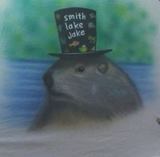 This is Smith Lake Jake wearing his hat for his Glamour Shot.