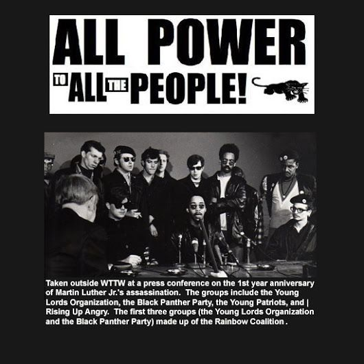 An overview of the black panther party and the response of the united states
