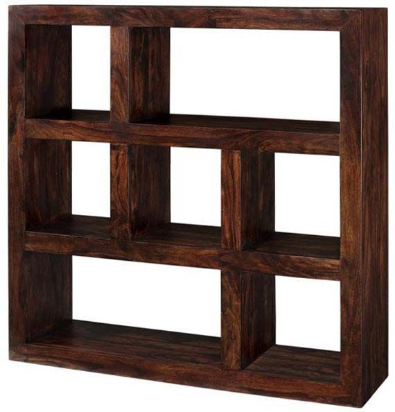 Solid Wood Bookcase Design Modern Furniture With Walnut ...