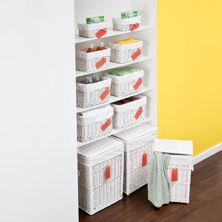 1000 ideas about wicker laundry hamper on pinterest - Howards storage ...