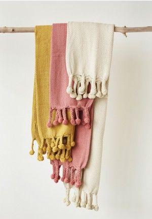 Cotton Throw, Cotton Throw Blanket, Pink Blanket, Throw Blanket, Pom Pom Throw, Decorative Throw Blanket, Cheap Throw Blanket, Small Throw Blanket, Decorative Blanket, Decorative Throw