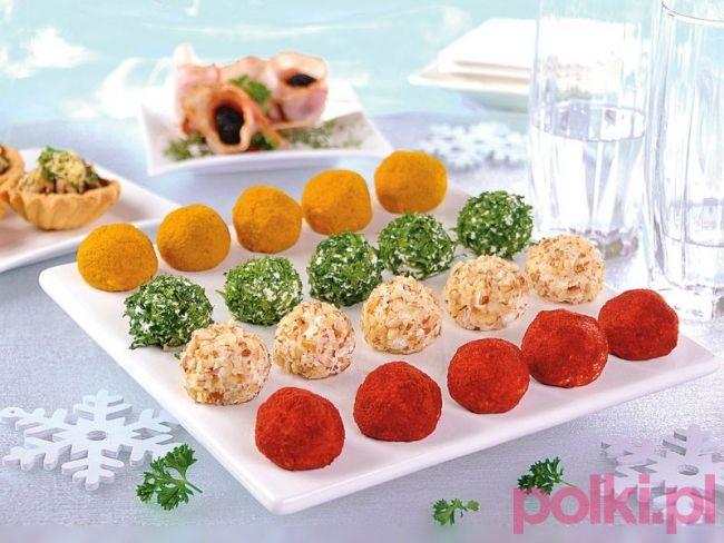 Kulki serowe - przepis składniki i przygotowanie -Przepis