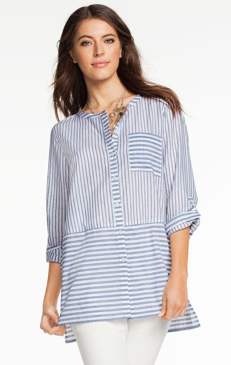 Capture Striped Cotton Shirt at EziBuy Australia. Buy women's, men's and  kids fashion online.