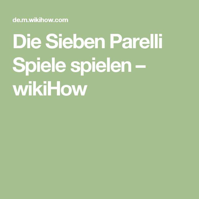 Die Sieben Parelli Spiele spielen – wikiHow
