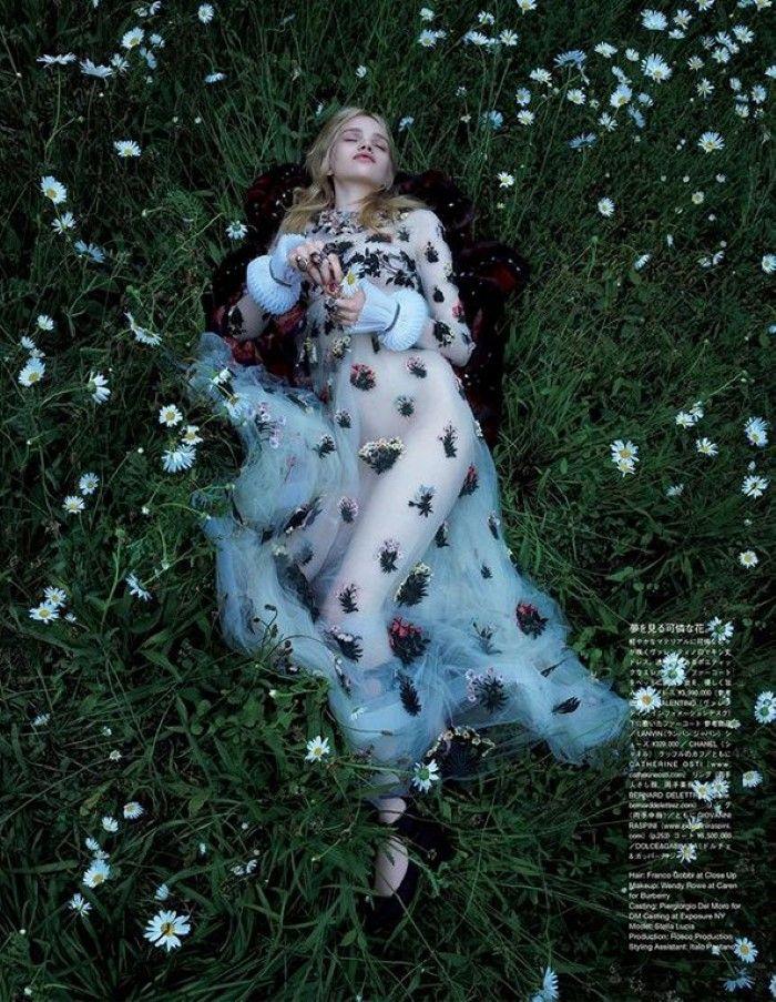 True Innocence: Stella Lucia for Vogue Japan December 2015 by Camilla Åkrans
