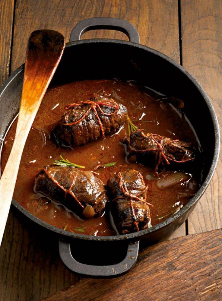 Rinderrouladen: German beef rolls