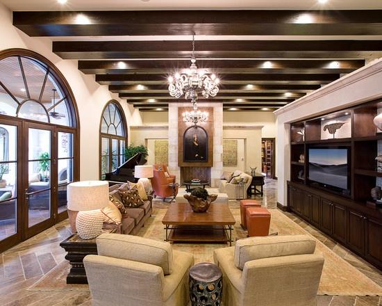 Living room spanish mission interiors design pictures - Spanish decorating ideas living rooms ...
