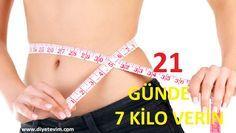 21 günde kilo verme diyeti
