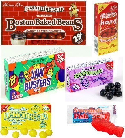 5 Pounds of the Greatest, Tastiest Old School Candy. Hard to find candy Mix. Always Fresh Directly From the manufacturers. BAG INCLUDES THE FOLLOWI...