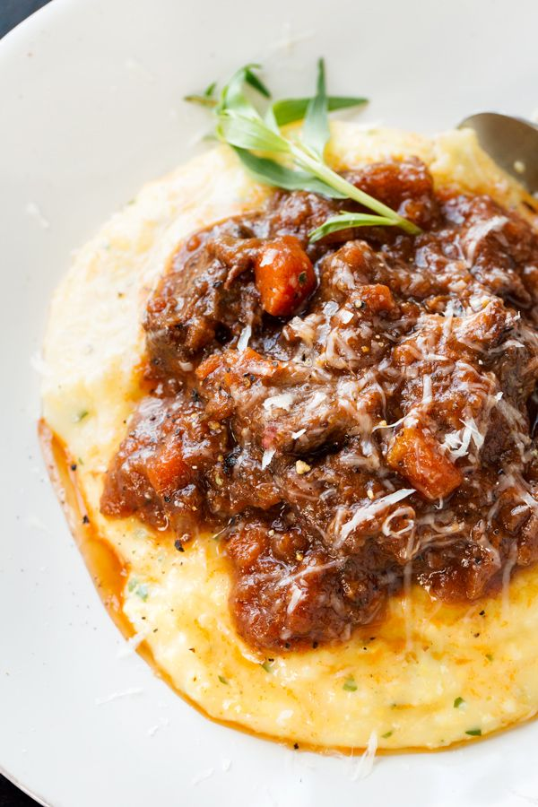Best 25 oxtail recipes ideas on pinterest oxtail stew for Creamy polenta with mushrooms and collards